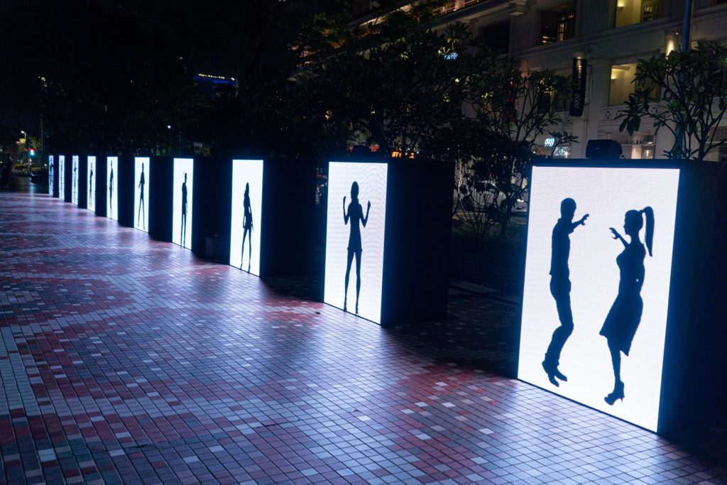 Singapore Night Festival 2019 - light installations