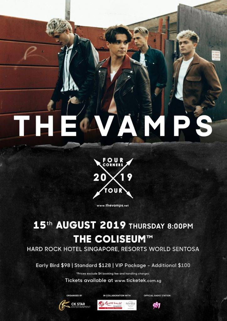 Aug Quick Beats - The Vamps