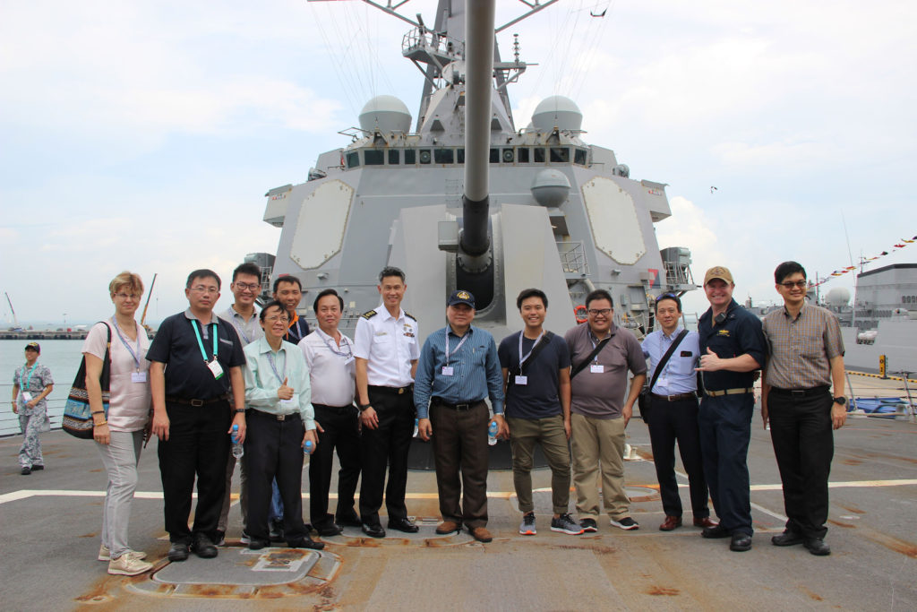 Reservist article - Changi Naval Base