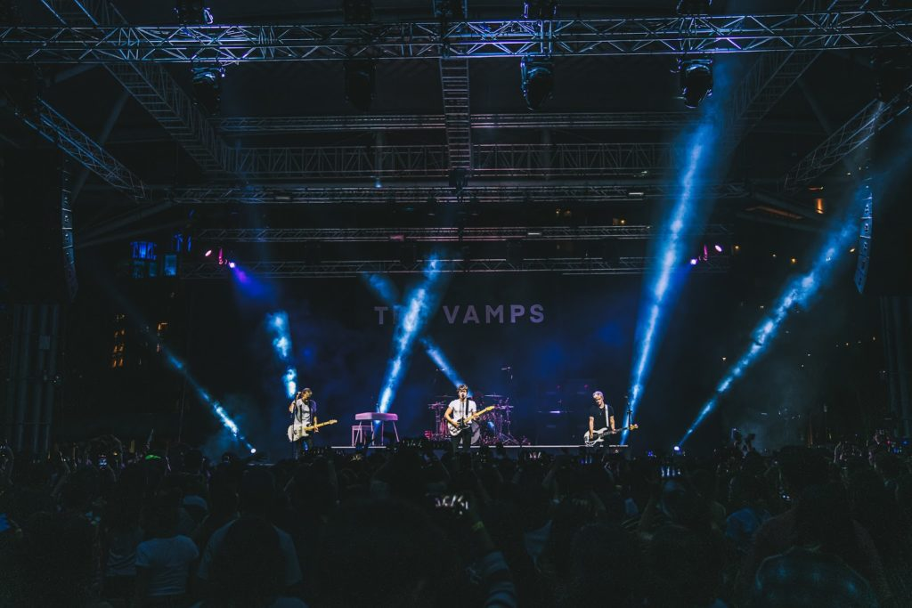 The Vamps review - group shot