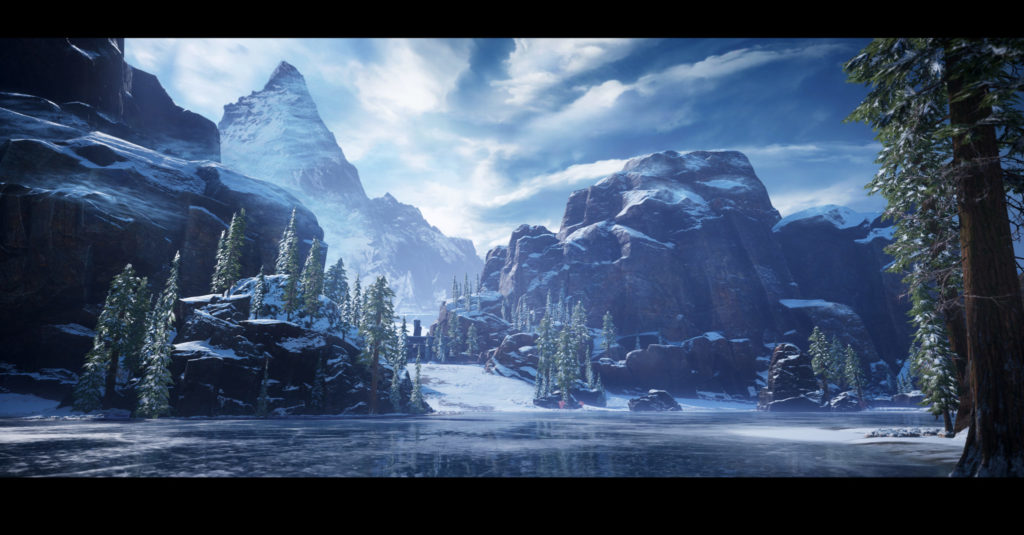 Gears 5 Review Ice Overworld