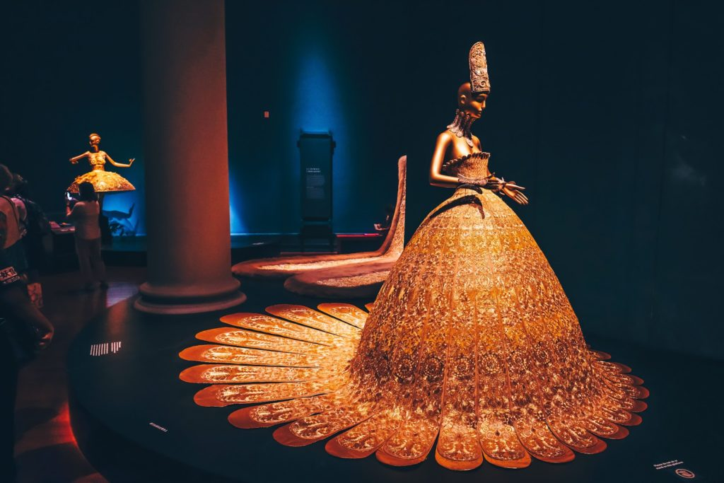 Guo Pei Exhibition - The Magnificent Gold