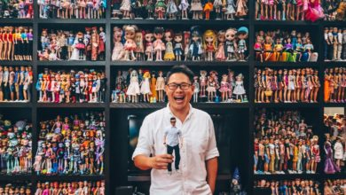 Photo of Meet Jian Yang, the man with over 12,000 toys and a book about tissue couture for dolls