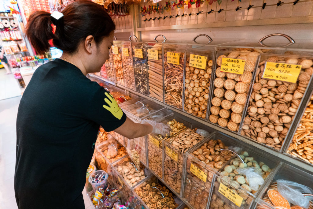Old school nostalgia: Picking out sweet treats