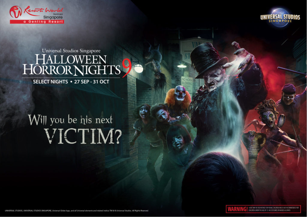 Halloween Horror Nights 9: Key Visual