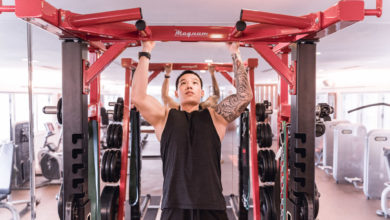 Photo of Getting personal with personal fitness trainer, John Fong