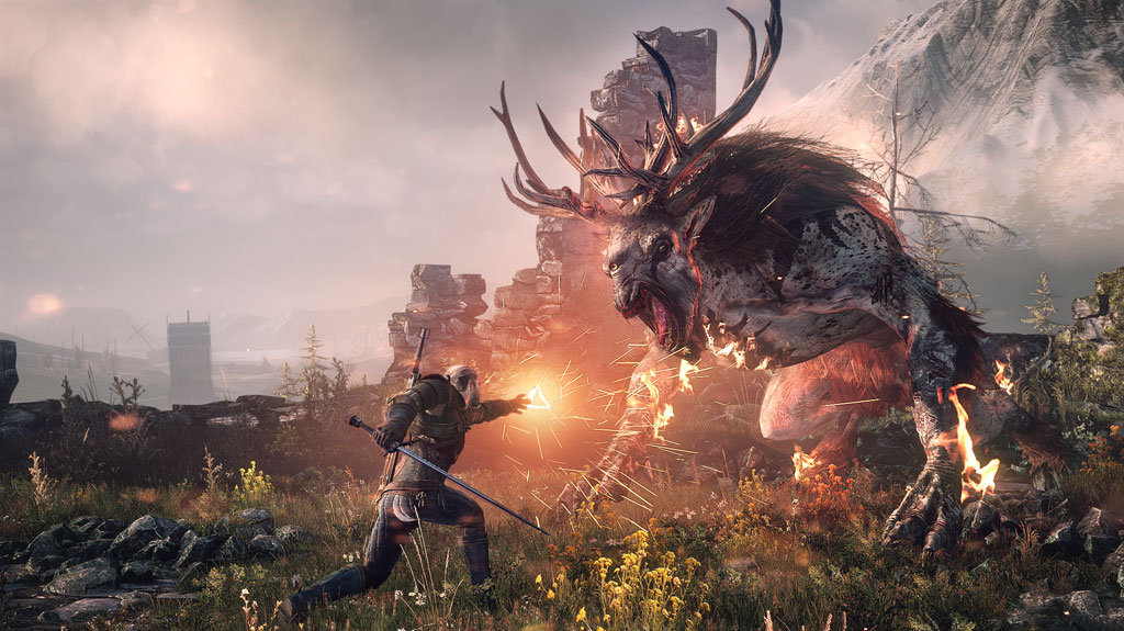 Circuit breaker Gaming: The Witcher 3