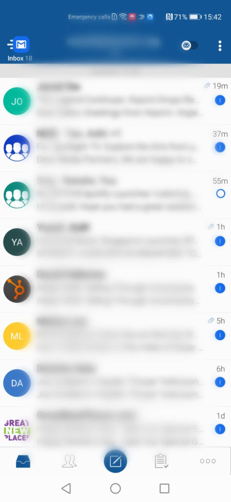 Huawei AppGallery Guide BlueMail