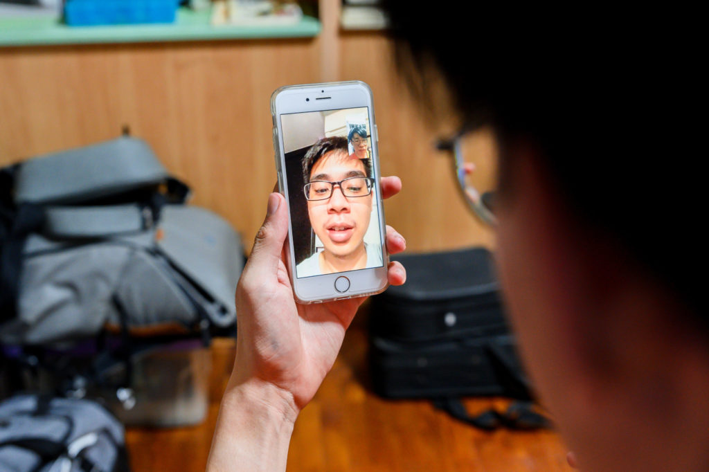 Video Conferencing: Phone video call