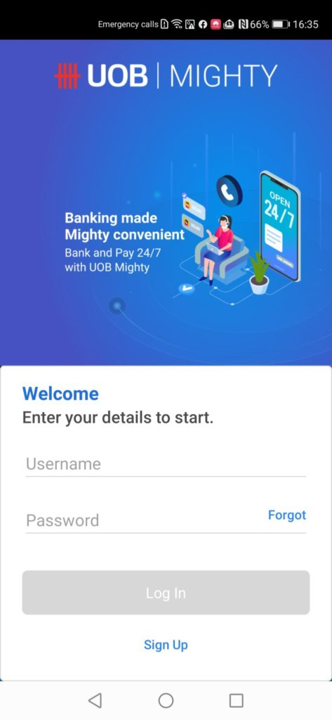 Huawei AppGallery Guide UOB Mighty App