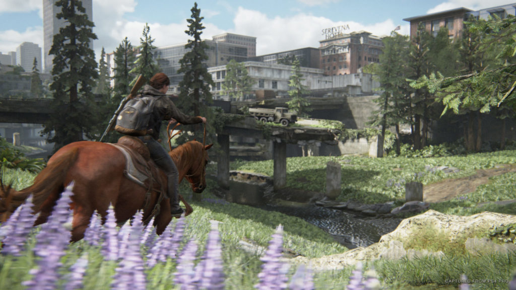The Last of Us Part ll Review: Horse riding