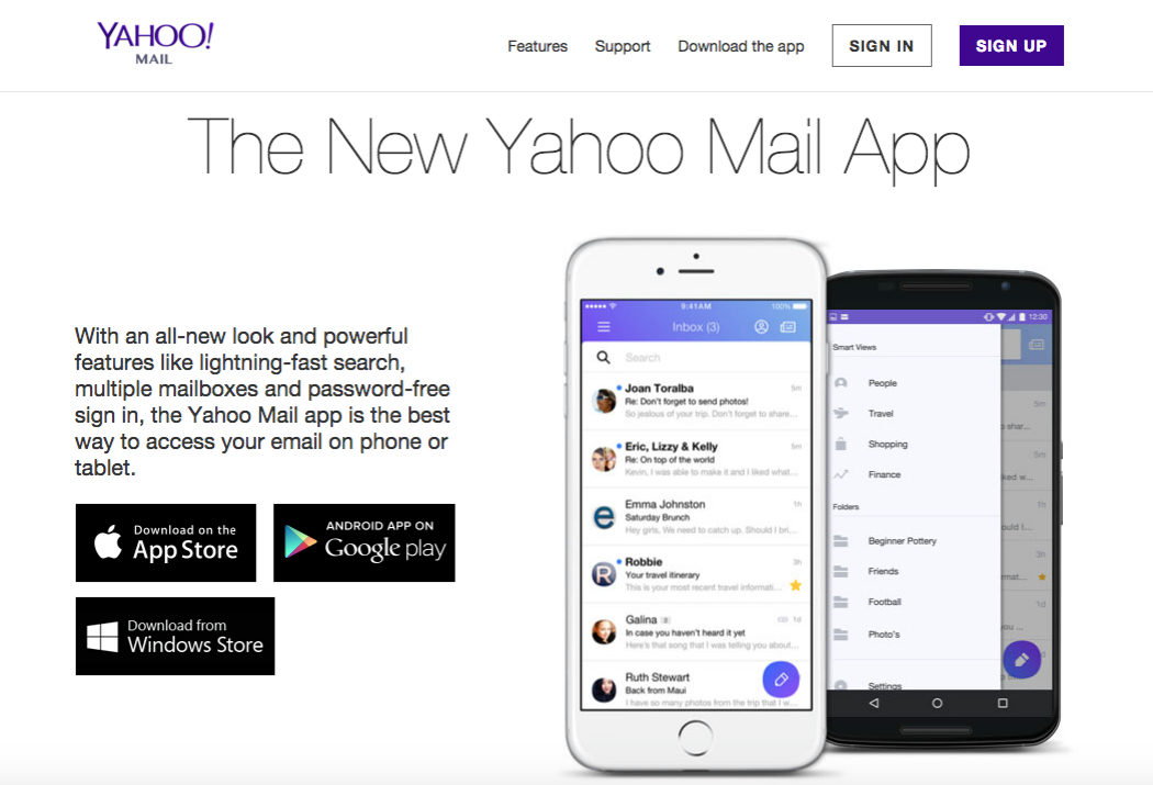 yahoomailsite