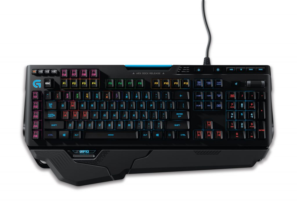 Logitech G910 Orion Spark RGB Mechanical Gaming Keyboard - 4 (credit to Logitech SG)