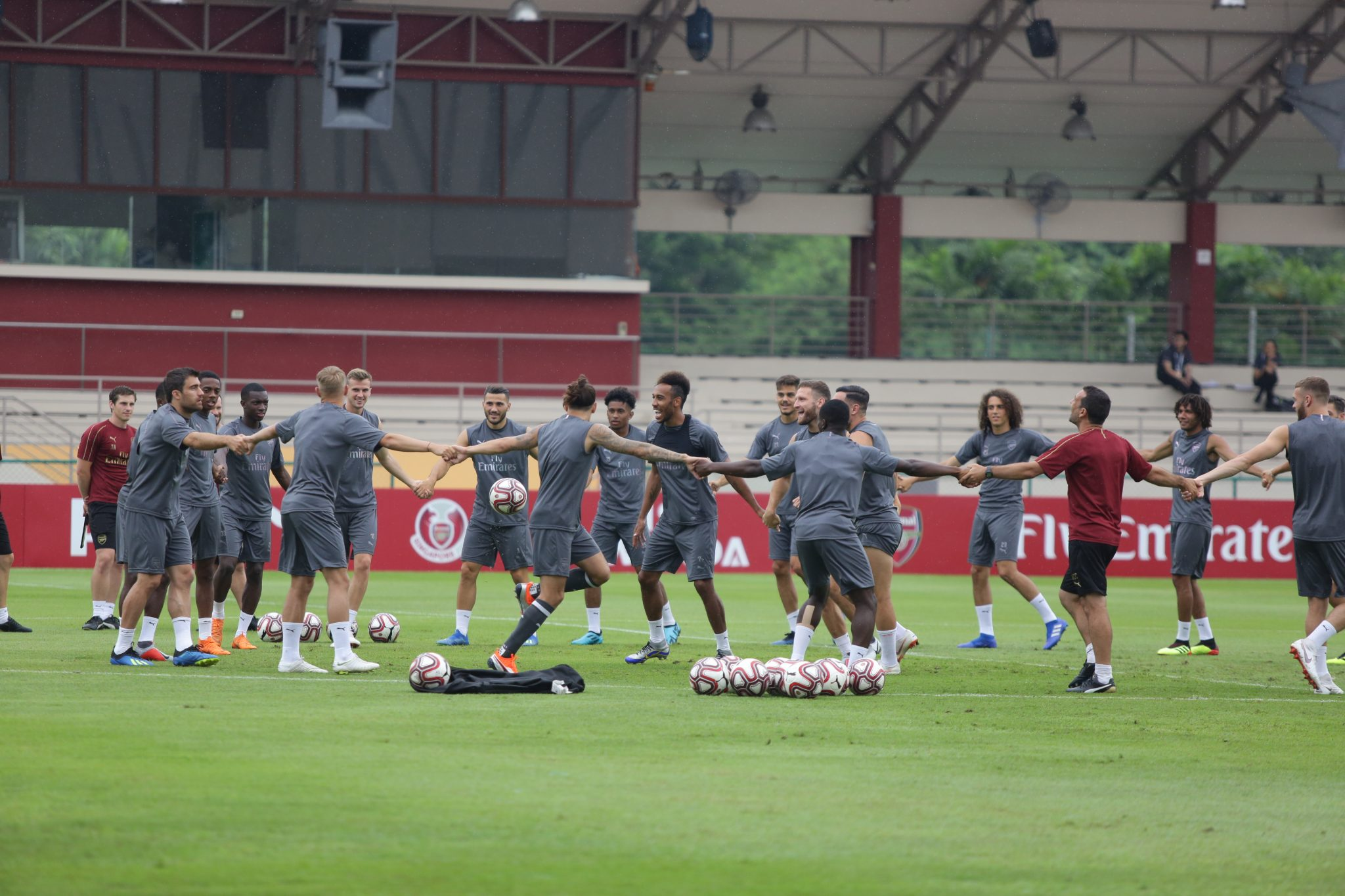 ICC Singapore: Arsenal Training