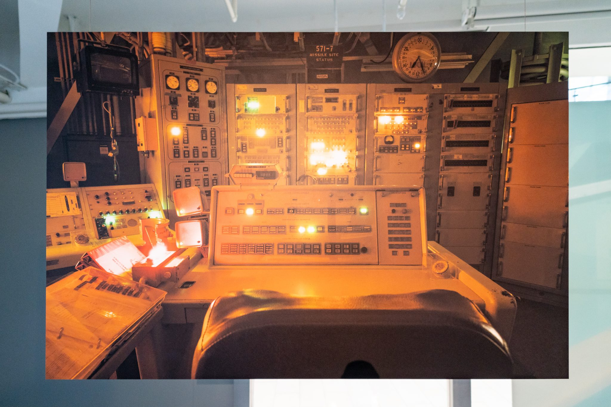 The Nuclear Landscape, Sim Chi Yin: Control Panel Lights