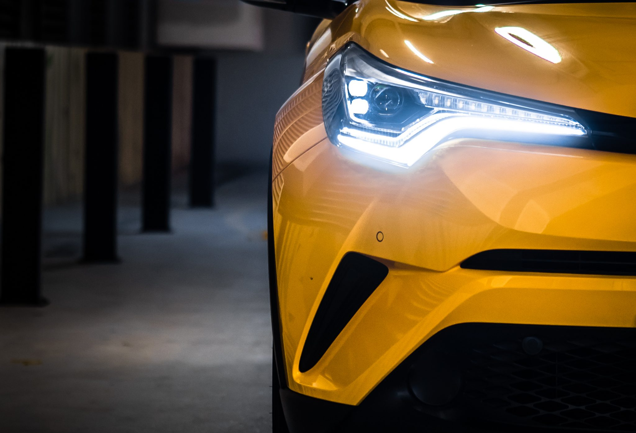 Toyota C-HR: Eye