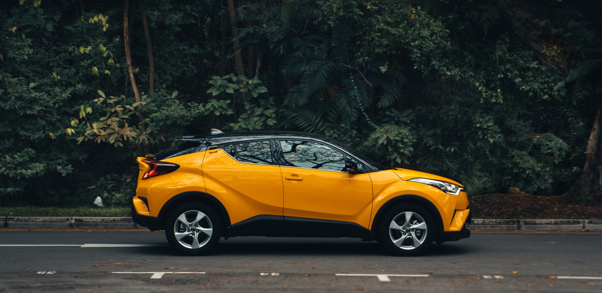 Toyota C-HR: Side View
