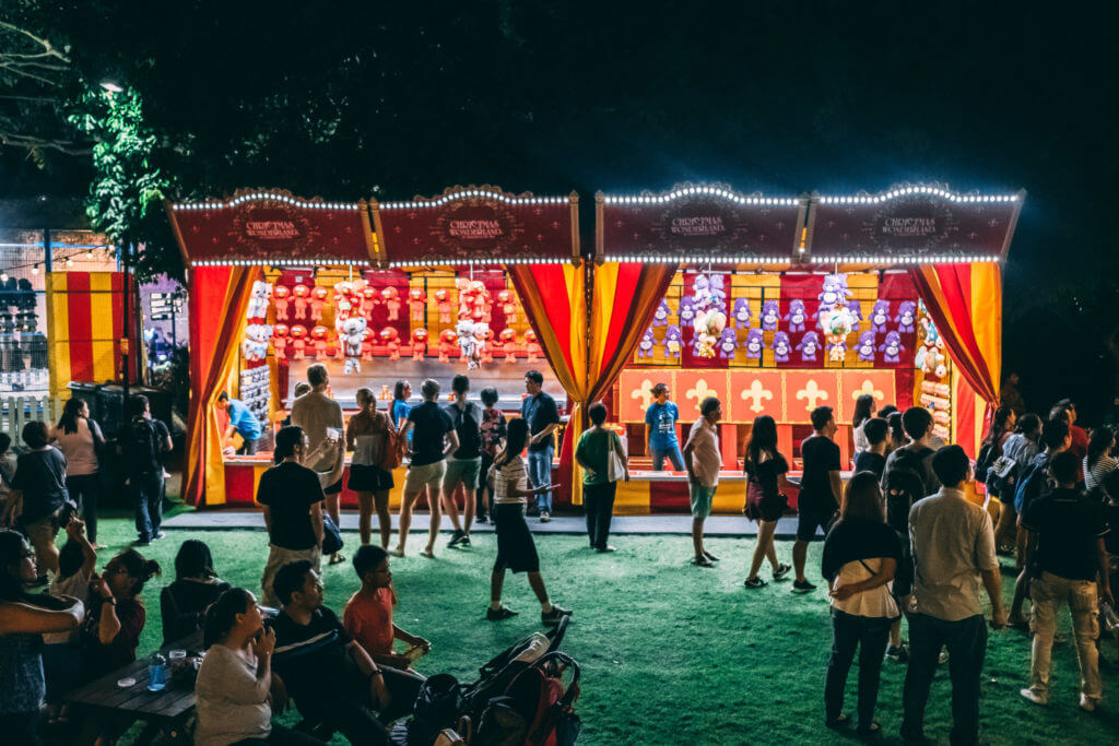 Christmas Wonderland: Carnival Games